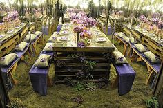 Embrace a design concept in every element of your event. viaMODblog Moda Botanica www.riley-jane.com