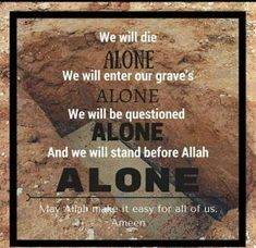 50 Inspirational Islamic Quotes About Death with Images Islamic Quotes, Quran Quotes Inspirational, Islamic Messages, Muslim Quotes, Religious Quotes, Islamic Images, Islamic Teachings, Islamic Pictures, Hindi Quotes
