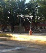En el cruce de Agustín Yáñez y Arcos, esta instalación para llenar pipas de agua, también desperdicia el vital líquido como lo muestra la gráfica del reportero ciudadano Luis E.G: