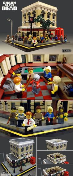 WIN!: Shaun of the Dead Legos WIN - Cheezburger