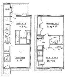 Small townhouse plans google search for the home for Small townhouse floor plans