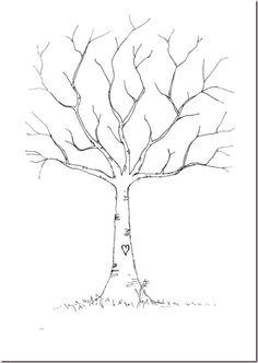 Fingerprint Tree Guestbook DIY Process