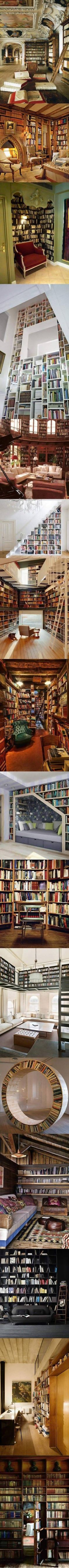 16 Incredible Home Library Designs That Think Outside the Box - TechEBlog