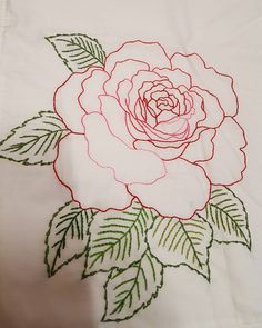 Good Absolutely Free rose Embroidery Designs Style Thank you for visiting palm embroidery! Embelleshment is usually a relaxing innovative outlet and al Hand Embroidery Tutorial, Hand Embroidery Designs, Embroidery Patterns, Lace Beadwork, Beaded Banners, Hand Painted Fabric, Creation Couture, Rose Embroidery, Satin Stitch