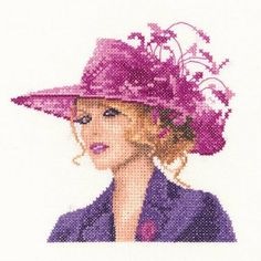 Elegance - Elegant ladies cross stitch kits based on designs by John Clayton. Cross Stitching, Cross Stitch Embroidery, Cross Stitch Patterns, John Clayton, Heritage Crafts, Counted Cross Stitch Kits, Circle Design, Crafty Craft, Art Girl