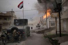 'I Saw This Huge Fireball': A View of Urban Warfare in Mosul