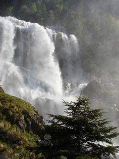 Cascade d'Ars  Aulus-les-Bains (Ariège)