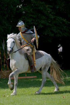 Roman cavalry reenactment Carnuntum 2008