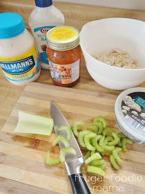 Frugal Foodie Mama: Ranch Buffalo Chicken Salad
