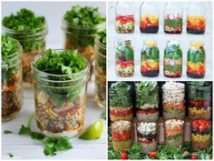 Salad In A Jar Lots of tips and ideas