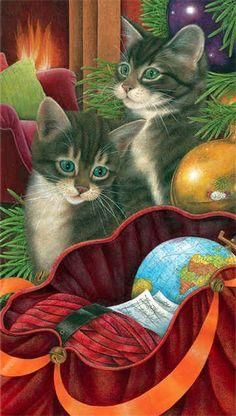 Cat Art / Art of Ann Mortimer