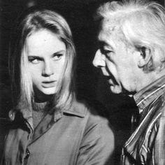 Dominique Sanda and Robert Bresson