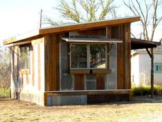 Small House Guide - Love, Life, Home, and Kids Shed Design, Cabin Design, Cottage Design, House Design, Cabana, Bunker Home, Hunting Cabin Decor, Off Grid Tiny House, Recycled House