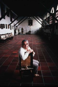 The Death Of The Patriarch: Remembering Gabriel García Márquez.  So touching amidst the endless tributes.
