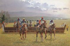 Peter Curling (b. 1955) Scarteen Point to Point