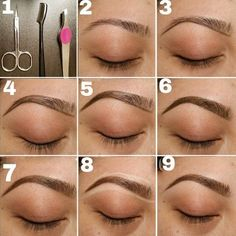 How To Draw Natural Looking Eyebrows When You Have None - AllDayChic