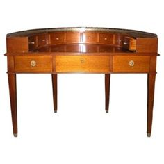 Check out this item at One Kings Lane! English Sheraton-Style Cherry Desk