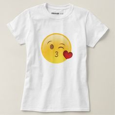 Shop Emoji T-shirt created by Pindaboter. Funny Emoji, Cute Emoji, Emoji Shirt, T Shirt Painting, Emoji Faces, Wardrobe Staples, Shirt Style, Fitness Models, Shirt Designs