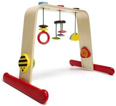 Gifts for Kids - Stimulate baby's eyesight and hand-eye coordination with a colorful LEKA baby gym.