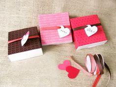 Cute love boxes #DIY #Crafts