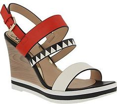 Azura by Spring Step Wedge Sandals - Antoinetta