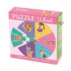 Fairies Puzzle Wheel: Two-Sided Round Puzzle: Amazon.de: Laura Arias: Englische Bücher