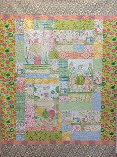 The Makers Quilt Kit, fabric designed by cori dantini for Blend fabrics