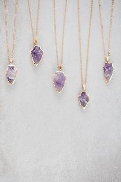 Beautiful Amethyst Necklaces
