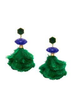 Have fun this spring and drape your earrings in some feathers ladies! Great way to stand out this season!