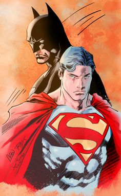 Superman & Batman by Ivan Reis