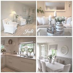 Shabby Chic Homes Style At Home, Casas Shabby Chic, Room Interior, Interior Design, White Rooms, Shabby Chic Homes, White Decor, My New Room, Cozy House