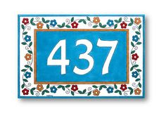 Custom numbers sign Personalized sign Outdoor numbers sign