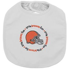 Baby Fanatic Team Color Bibs Cleveland Browns 2Count *** Check out the image by visiting the link.(It is Amazon affiliate link) #likebackteam