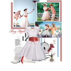9/50 Mary Poppins's Dress, created by wedancefordreams.polyvore.com