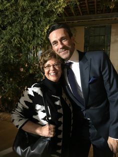 My mom and Jon Hamm