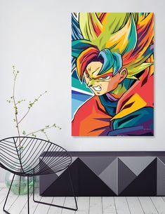 Sheng Long, Framed Art Prints, Canvas Prints, Welcome Gifts, Paint Pens, Goku, Dragon Ball, Cotton Canvas, Artist