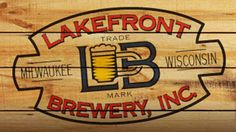 Lake Front Brewery. 4th anniversary with my lady.  Enjoyed the tour and got 4 large pours + two pint glasses for $7.  Brews and cheese curds were great.