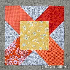 Gen X Quilters - Quilt Inspiration | Quilting Tutorials & Patterns | Connect: Patchwork Auditions #1: Sawtooth Star