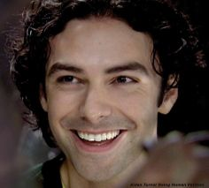 "Our top 10 fav #AidanTurner ""smiling"" photos."