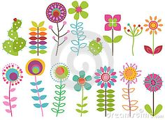 Vintage Illustration Retro Flowers Clipart Clip Art, Vintage Flowers Clip Art Clipart Vectors - Commercial and Personal Use Vintage Illustration Source : Retro Blumen Clipart ClipArt, Vintage Blumen Clip Art Clipart Vektoren - kommerz. Art Clipart, Watercolor Clipart, Flower Clipart, Retro Flowers, Vintage Flowers, Art Floral, Design Floral, Vintage Embroidery, Embroidery Patterns