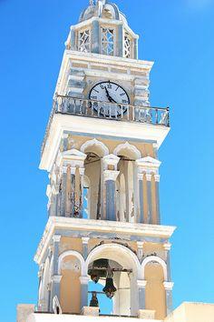 Fira Clock Tower - Santorini (Thira), Greece