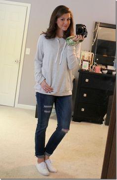 Ink Love & Peace Heatherly Knit Sweatshirt