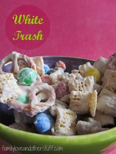 White Trash Recipe: A Christmas Tradition  Easy to make snack or gift