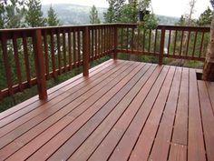 Wood deck railing options carpenters