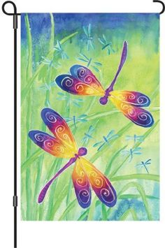 Premier 51032 Garden Illuminated Flag, Dancing Dragonflies, 12 by 18-Inch by Premier Kites, http://www.amazon.com/dp/B007CL7VK2/ref=cm_sw_r_pi_dp_M1A.rb0HJTDNP