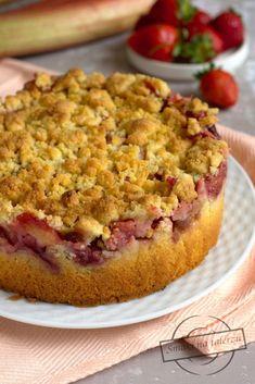Owocom i kruszonce nie powiem nie;) W tym cieście to one podbiły moje serce. Samo Pumpkin Cheesecake, Strawberry Recipes, Quiche, Raspberry, French Toast, Good Food, Food And Drink, Pie, Cooking Recipes