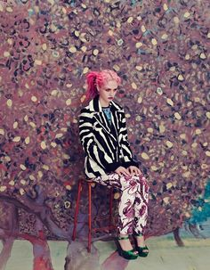 Photos: Elena Rendina for Wonderland Nov/Dec11 featuring Charlotte Free