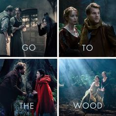 Go to the Wood! #IntoTheWoodsEvent #IntoTheWoods