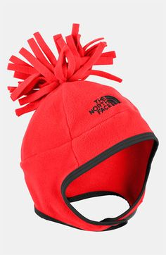 On sale way cute but not in Red The North Face 'Noggin' Hat (Infant)