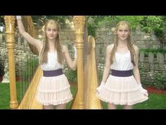 Harp twins the ladies are amazing Easy Listening Music, Good Music, Music Music, Passion Music, Scarborough Fair, Celtic Music, Billy Joel, Relaxing Music, Harp